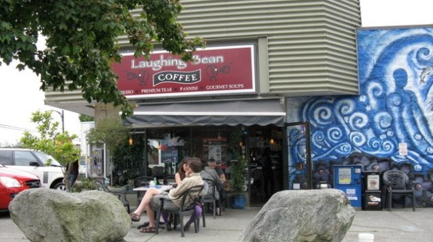 Laughing Bean Coffee located at E Hastings and Slocan Photo courtesy of smokinglily.blogspot.com